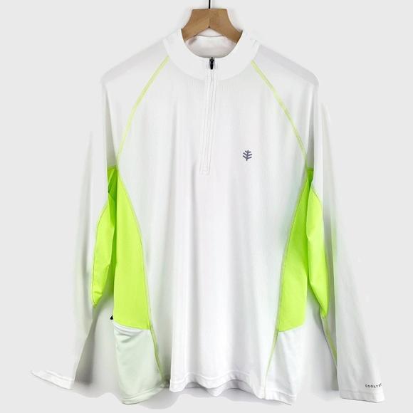 Coolibar Other - Coolibar Quarter Zip Long Sleeve Shirt UPF 50+